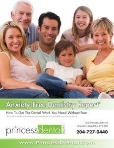 cover of anxiety-free dentistry guide