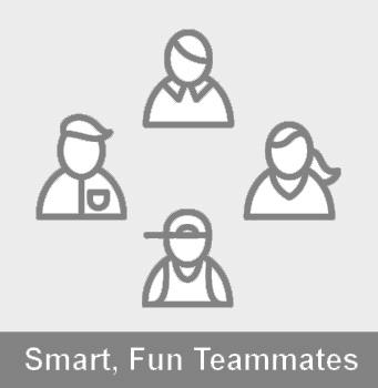 illustration of teammates